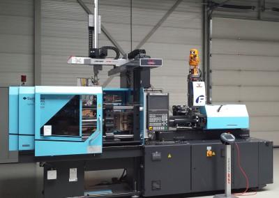 Systec 100t met Wemo xDesign robot en Koch Fasti droger