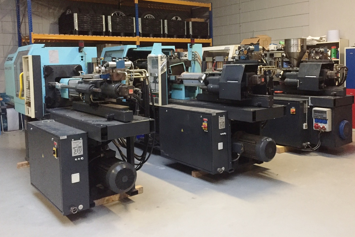 Used machines | Thiele&Kor Plastics Machinery BV