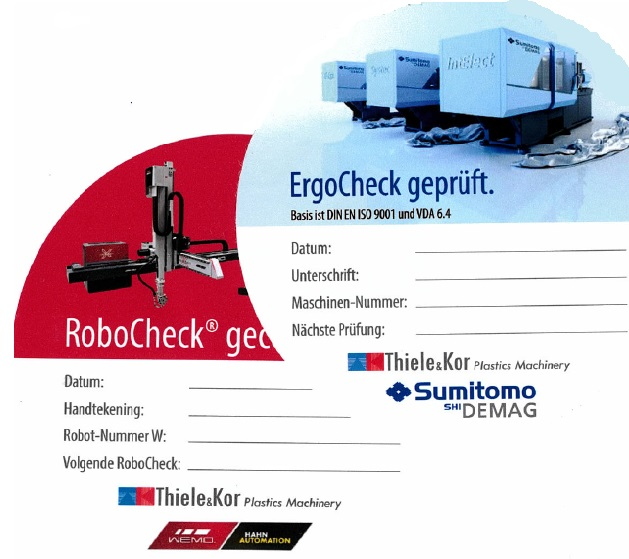 Sumitomo Demag ErgoCheck / Wemo RoboCheck