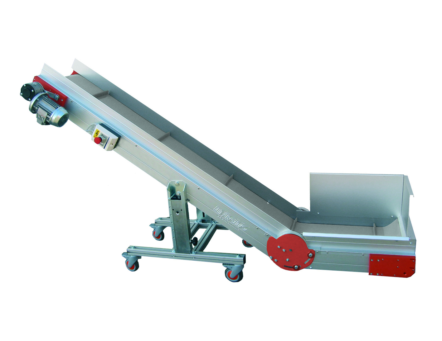 AL-CB angled conveyor belts with single angle